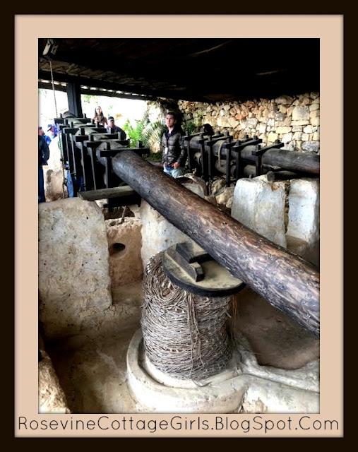 Yad Hashmona Israel olive press