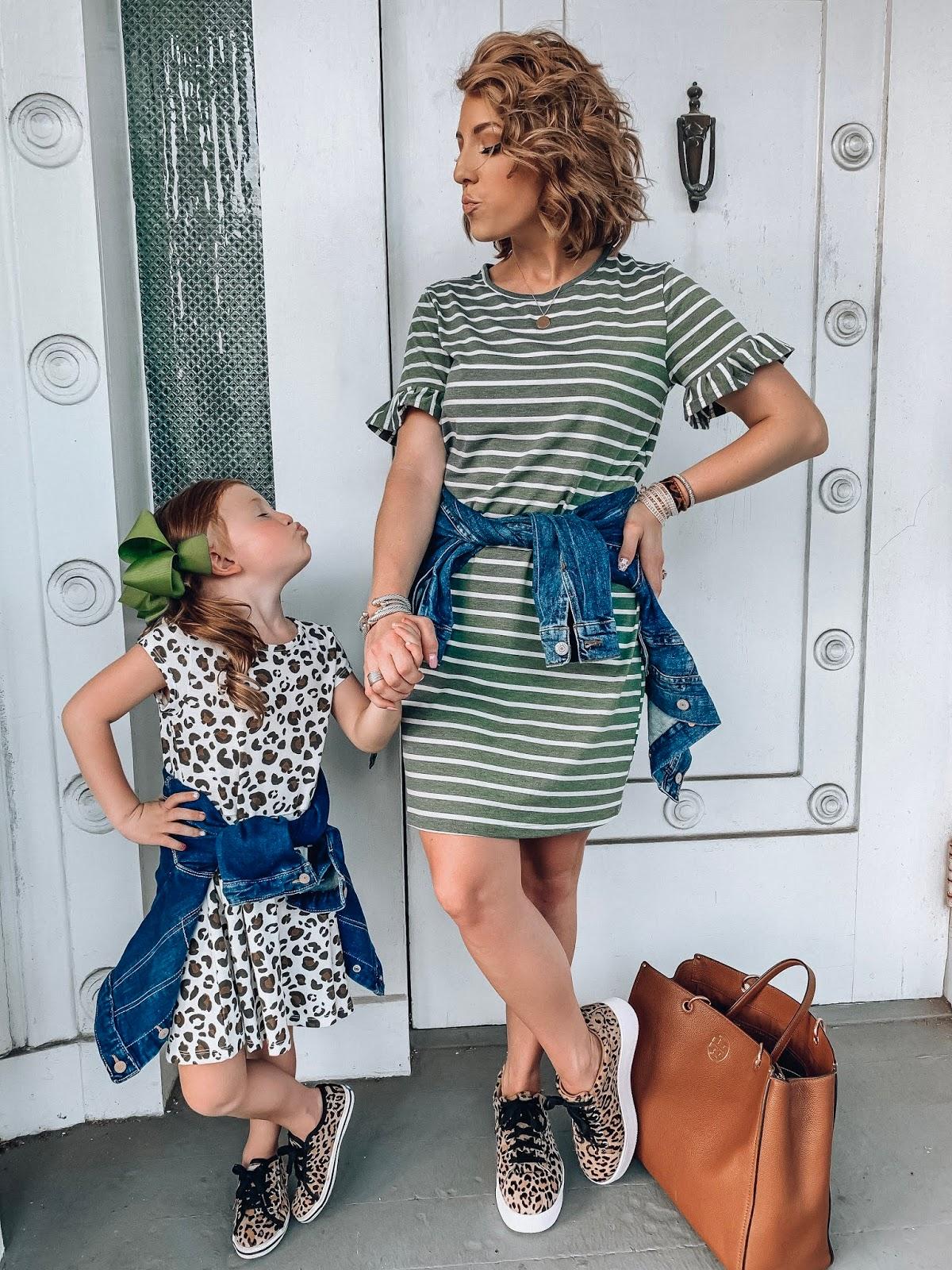$17 Ruffle Sleeve T-Shirt Dress + Recent Amazon Finds - Something Delightful Blog