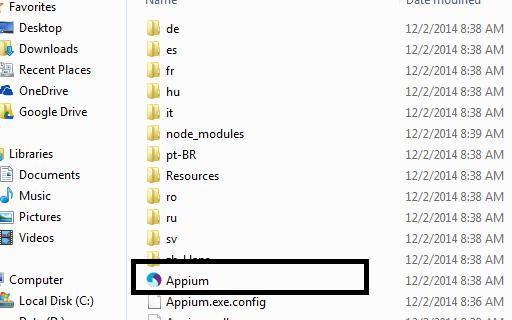 Start-appium-server