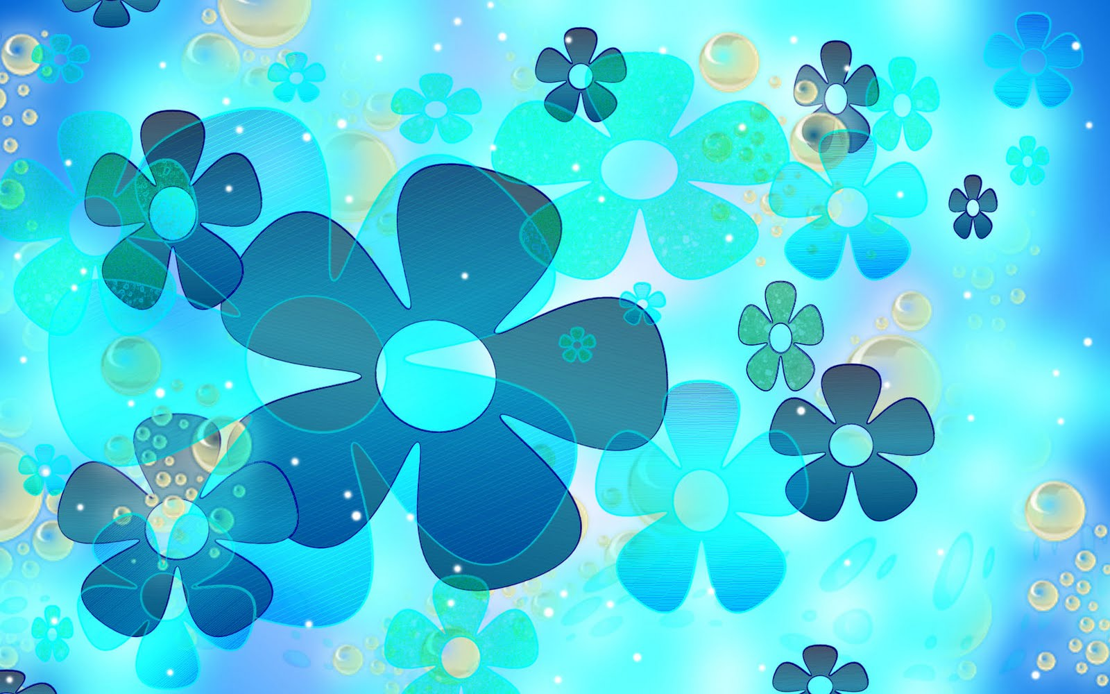 simple blue flower wallpapers - photo #28