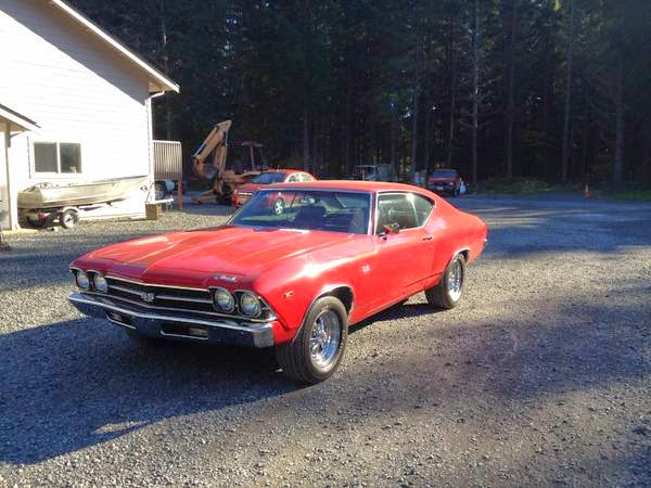 For Sale 1969 Chevrolet Chevelle Ss 396 Buy American Muscle Car