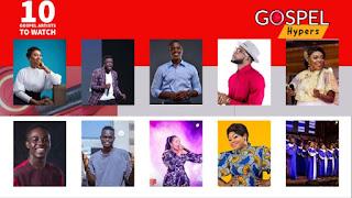 10 Ghanaian Gospel Artists To Watch In 2020