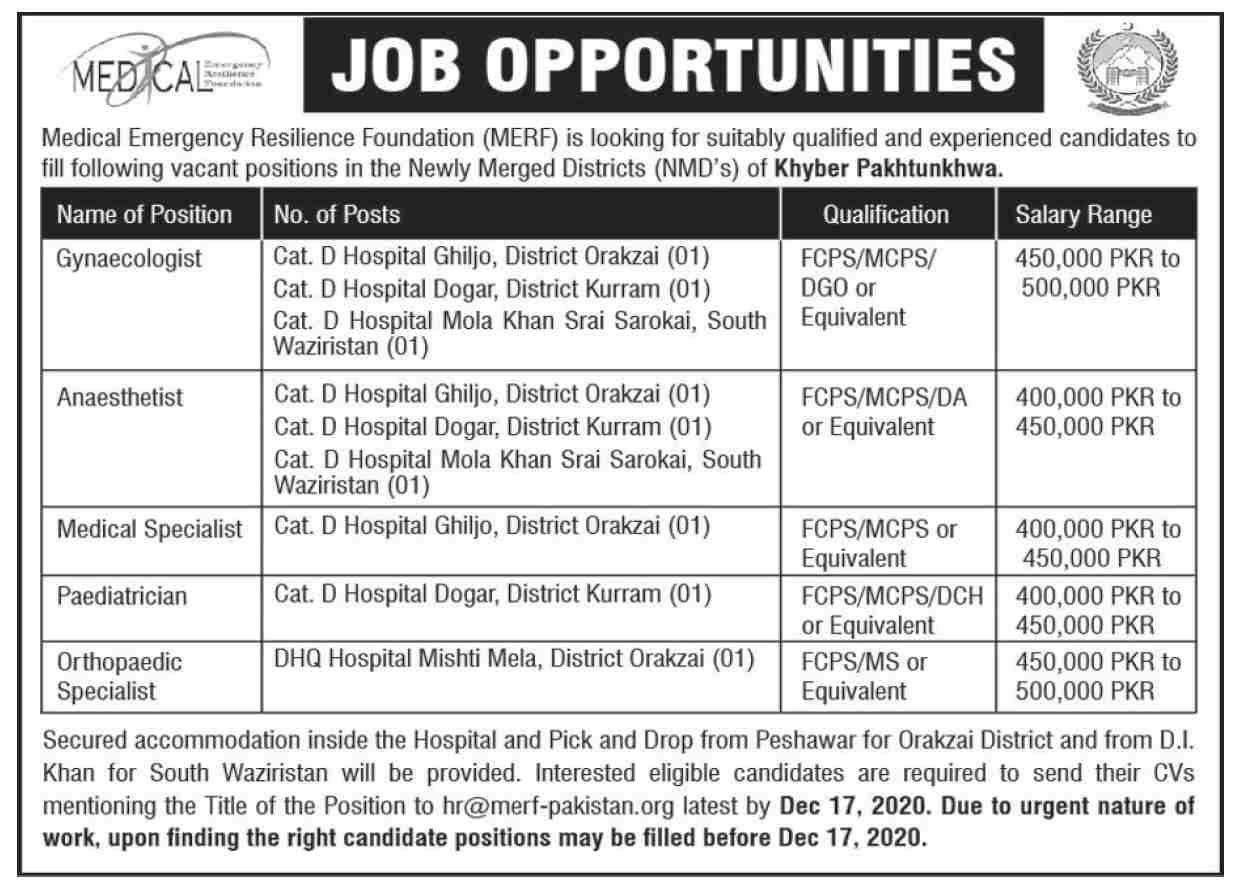 Rescue 1122 Jobs 2020 in KPK Say Job City