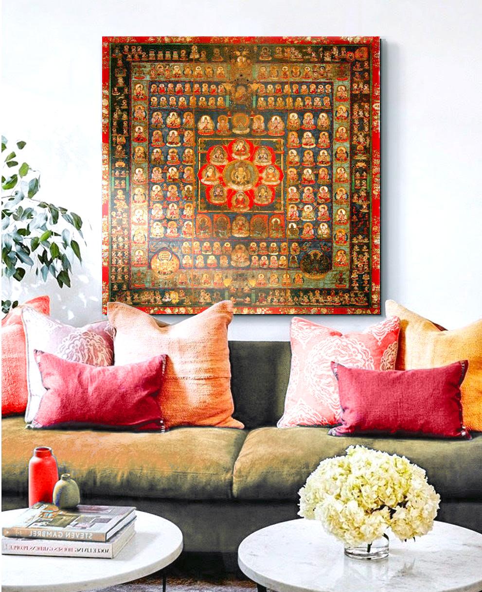 Cuadros online donde comprar cuadros mandalas - Cuadros para encima del sofa ...