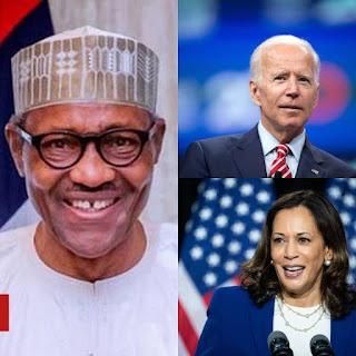 President Mohammedu Buhari Congratulates Joe Biden And Kamala Harris, See What He Said About The Vice President