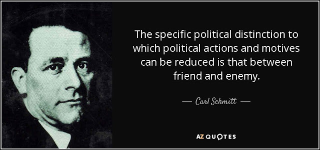 Carl Schmitt quote