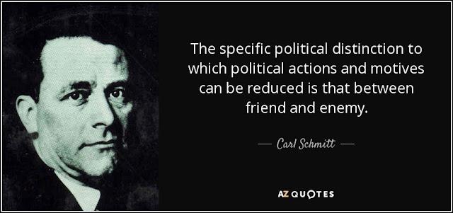 Carl Schmitt quote