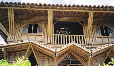 Truco construir con bambú
