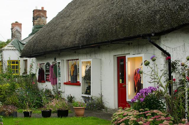Adare casas tradicionales Irlanda