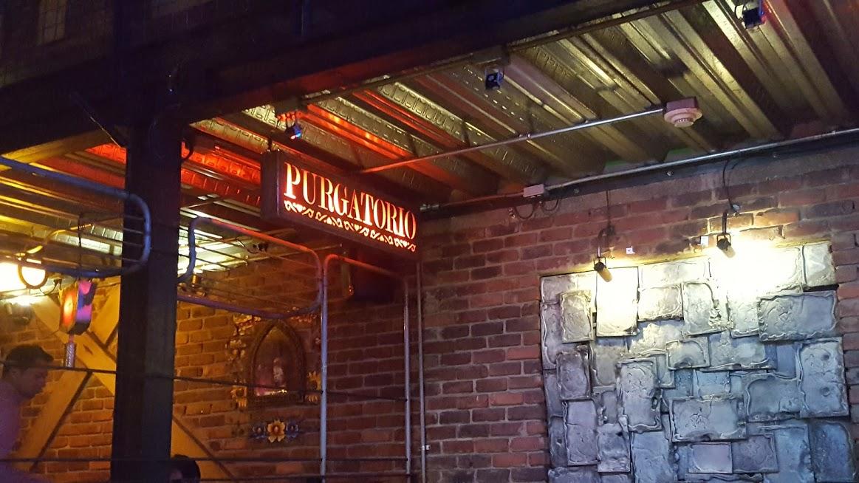Ambiente Purgatório no restaurante Andres Carnes Des Res na Zona T - Bogotá