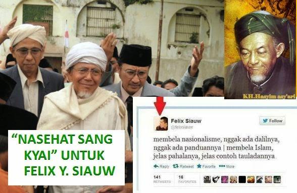 Felix Siauw: Nasionalisme Ga ada Dalilnya, KH Hasyim Asyari: Nasionalisme bagian dari Agama