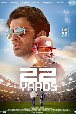22 Yards 2019 Hindi 720p WEB HDRip 900Mb x264