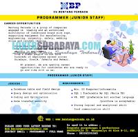 Open Recruitment at CV. Bentang Persada Group (Rantech) Surabaya November 2019