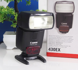 Canon 430ex -  External Flash Bekas