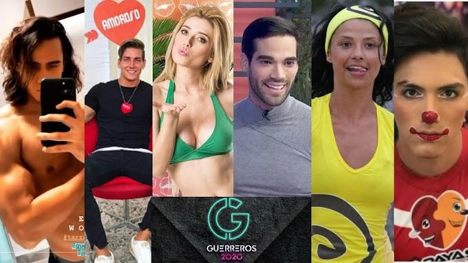 Los Famosos que Participaran en Guerreros 2020