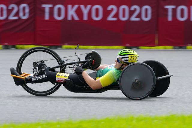 Jady Malavazzi fica em 13º na resistência dos Jogos Paralímpicos - Foto: JB Benavent / CBC