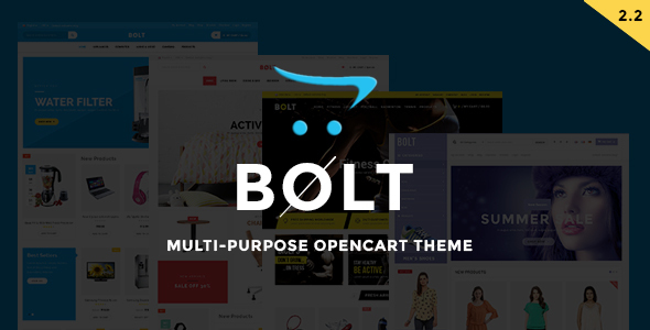 Bolt - Responsive OpenCart Theme