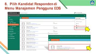 Pilih Kandidat Responden PMP 2020