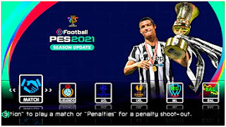 Download PES 2021 PPSSPP CV2 Camera PS5 Full HD Update Kits 2021/22 & Latest Transfer