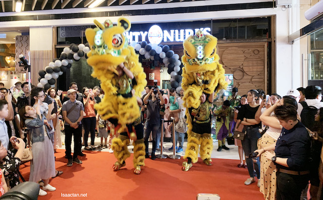 Lion dance and more!