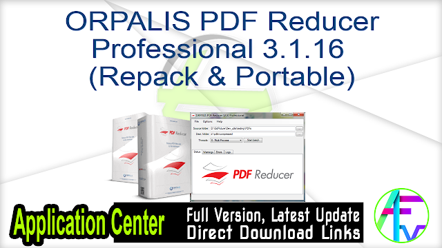 ORPALIS PDF Reducer Professional 3.1.16 (Repack & Portable)