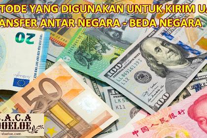 Cara Transfer Uang ke Luar Negeri melalui Western Union Paypal atau Money Gram
