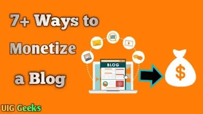 7 Ways to Monetize a Blog and Make Money Online 2021