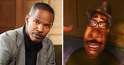 Jamie Foxx as Joe in Pixar's new film, Soul