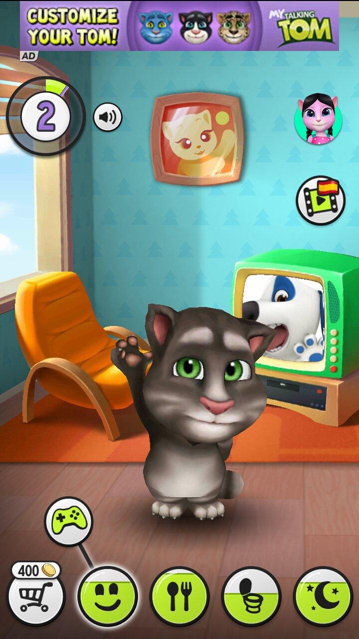 تحميل لعبة القط المتكلم لهاتف