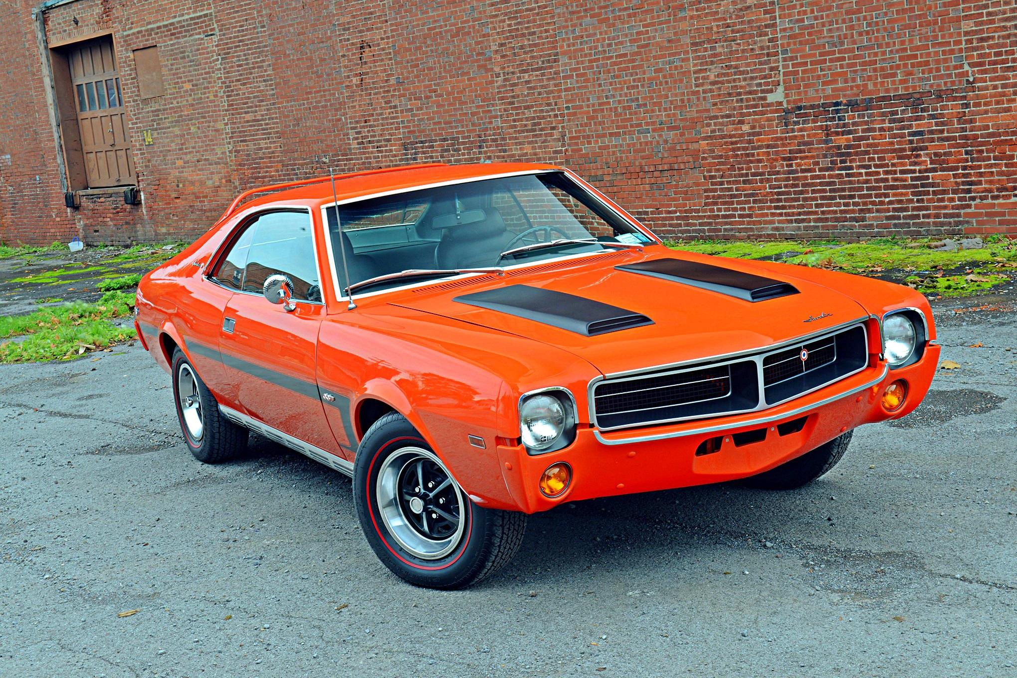 Amc Javelin was a very good pony car