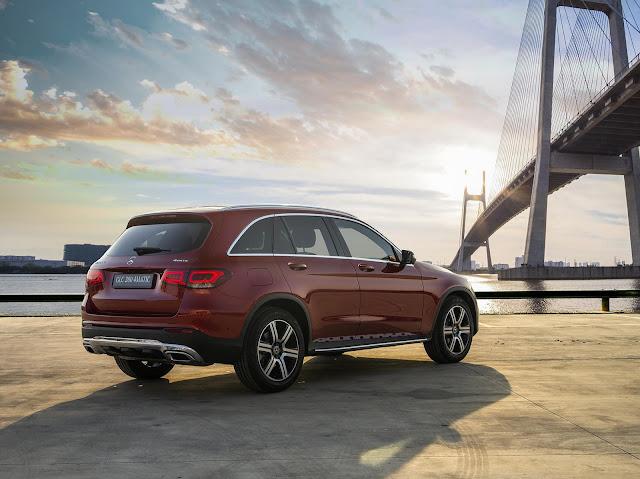 Đánh giá Mercedes GLC 200 4MATIC 2020