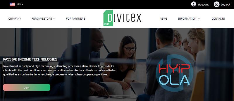 [SCAM] Review Divitex Club - Dự án từ admin đẳng cấp lãi từ 1.3% hằng ngày - Thanh toán Manual