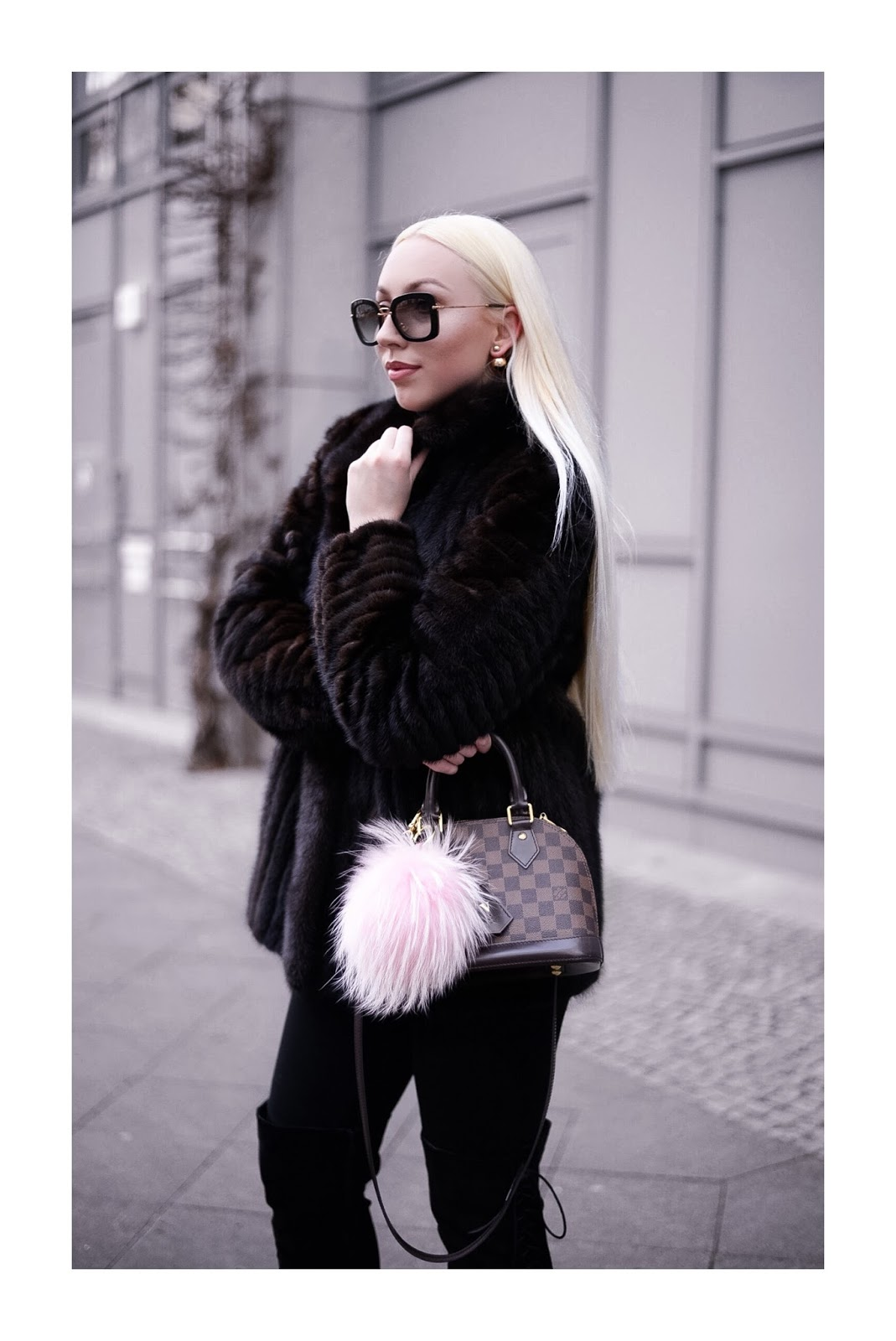 fur coat_pelz jacke_date night outfit