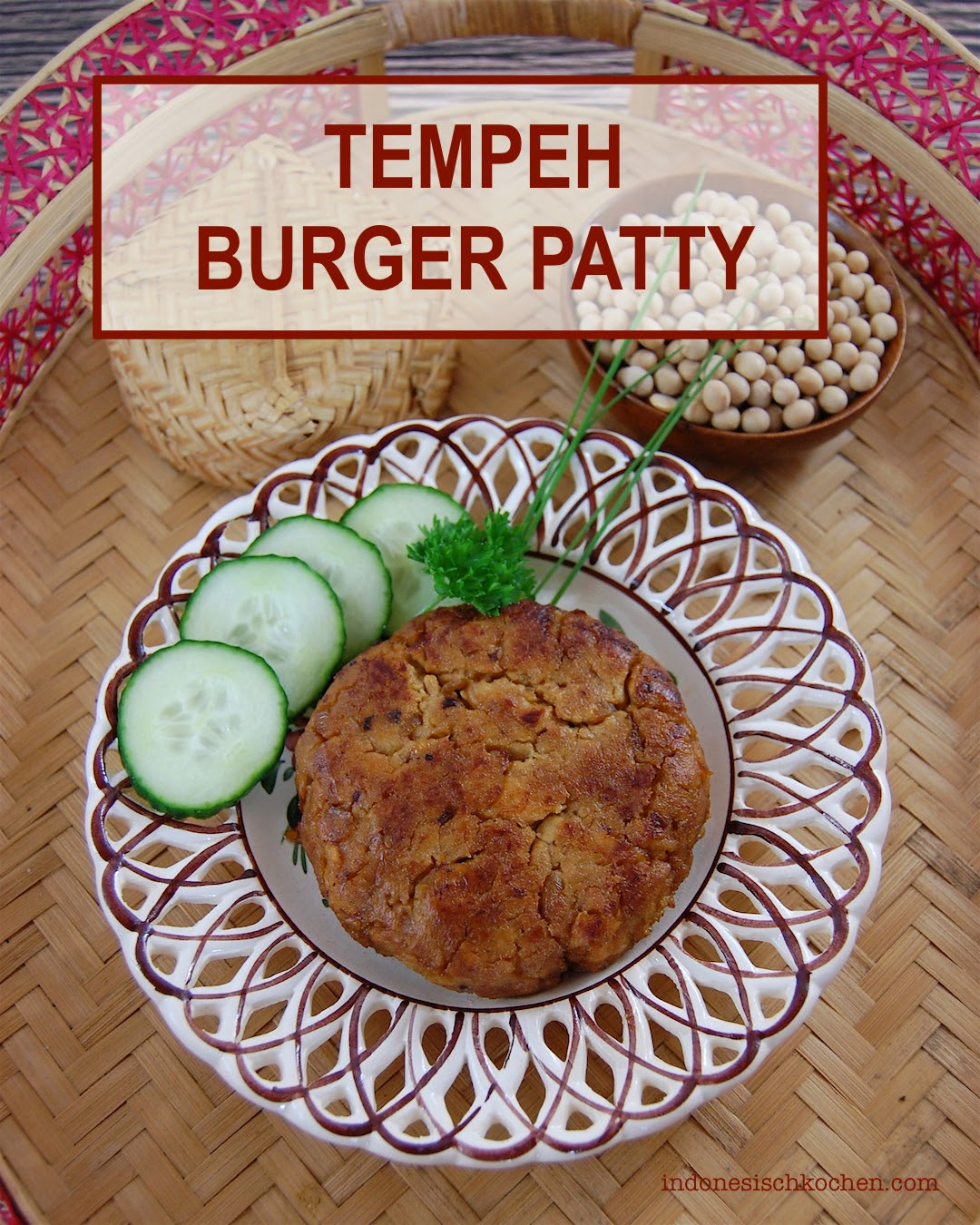 Rezept Tempeh Burger patties