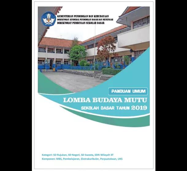 Panduan Lomba Budaya Mutu SD 2019