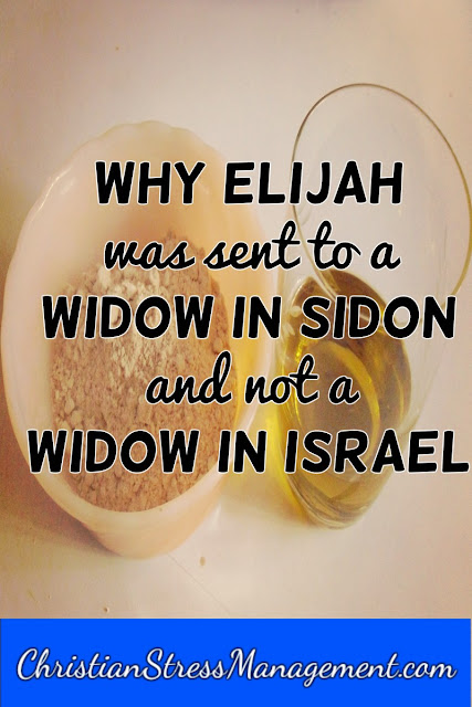 Why Elijah was Sent to a Widow in Sidon and not in Israel