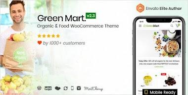 গ্রিন মারট ওয়ার্ডপ্রেস থিম প্রিমিয়াম ফ্রী ডাউনলোড । Green Mart wordpress Theme Free Download