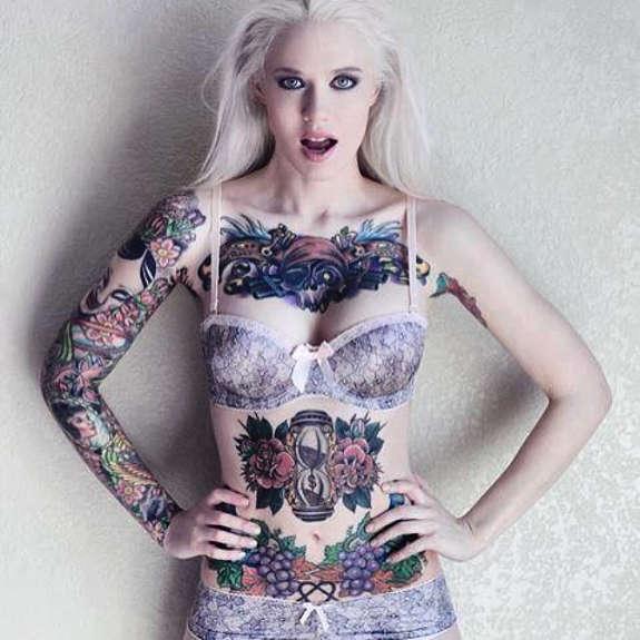 Lovely Tattoo, Sexy Tattoo, Stomach Tattoo