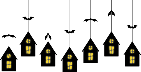 Be Different...Act Normal: Haunted House Template