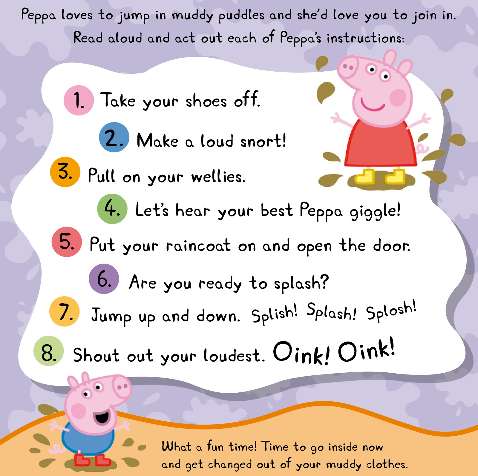 Peppa Pig Worksheets For First Grade Peppa Best Free