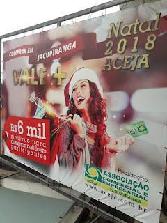 Natal em Jacupiranga sorteia r$ 6 mil em vales compras