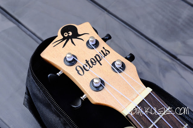 Octopus UK215C Concert Ukulele headstock