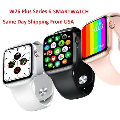 W26 Plus series6 Smart Watch ECG Body Temperature IOS/Android apple/andriod.