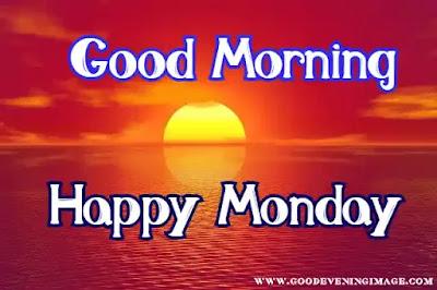 Good Morning Happy Monday image