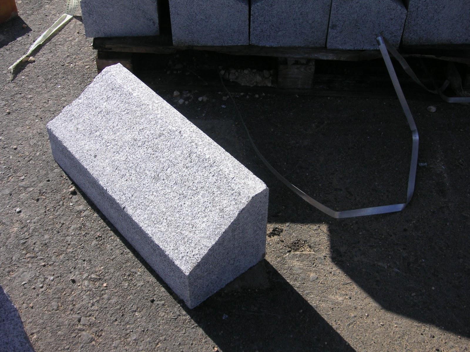 Bordillos de granito gris quintana adoquines y baldosas - Precio de adoquines de granito ...