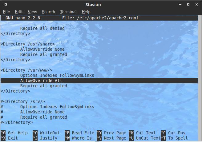 Enable apache mod_rewrite in Ubuntu 104 LTS