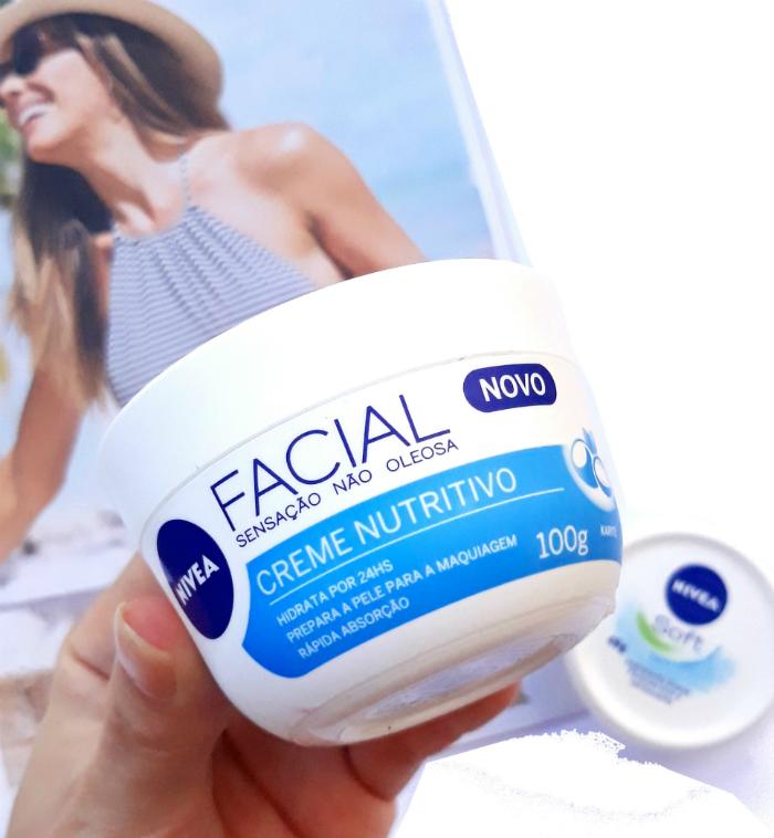 NIVEA Creme Facial Nutritivo - Resenha