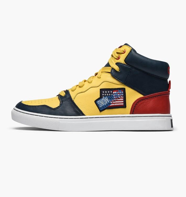 e8c9c55504e86 Ralph Lauren Snow Beach High-Top Sneakers