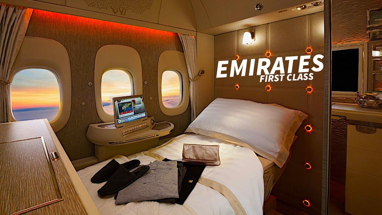Emirates A380 Interior Economy