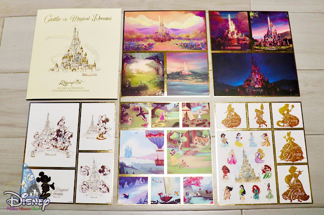 Castle of the Magical Dreams, Lithographs Set, 奇妙夢想城堡, 概念圖畫作, 平版畫套裝, art collection, 童話藝坊 - 魔法化妝廳